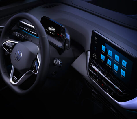 Interior of the new VW ID.4