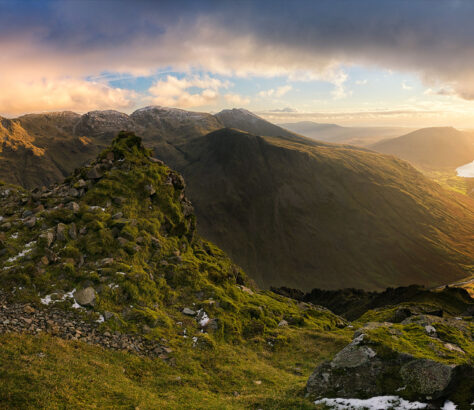 A view of the Lake District