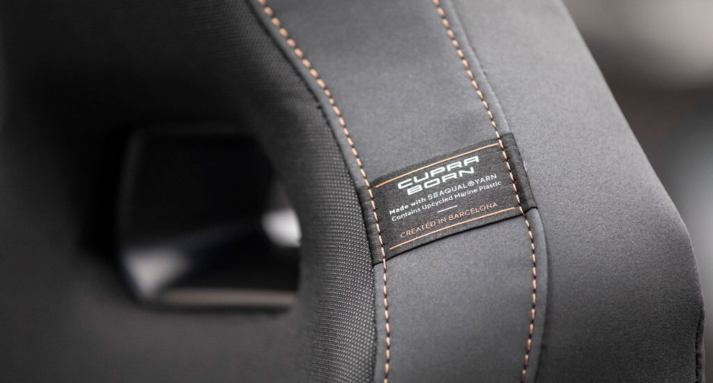 The new bucket seats will be created from the recycled polymer fibre fabric, SEAQUAL® YARN