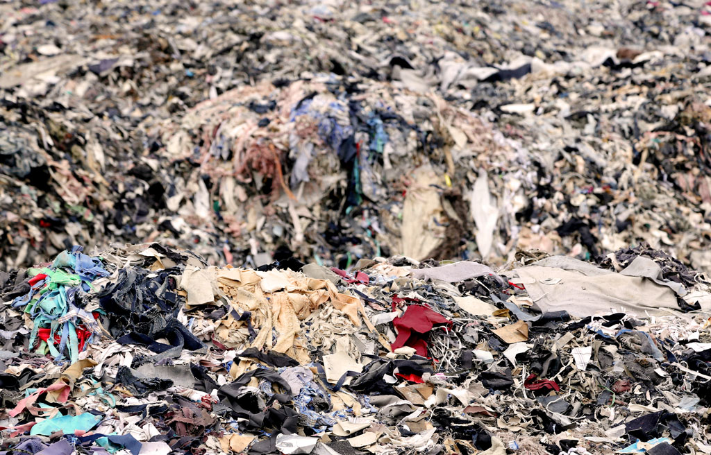 Fashion production comprises 10 per cent of total global carbon emissions, and 85 per cent of all textiles go to landfills each year