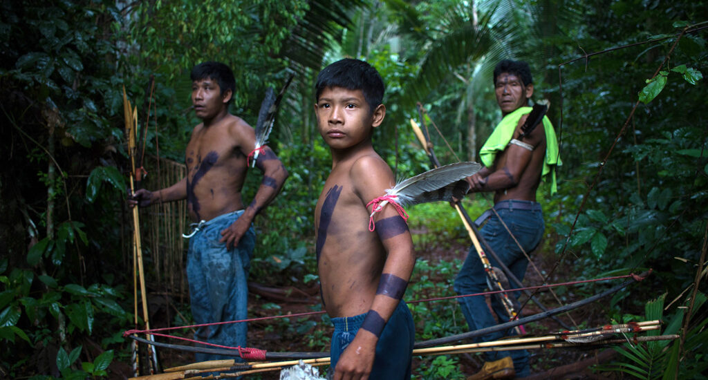 The Uru-Eu-Uaw-Uaw Indigenous Territory was established by the Brazilian government to protect the tribes; however, loggers and miners have regularly invaded their lands.