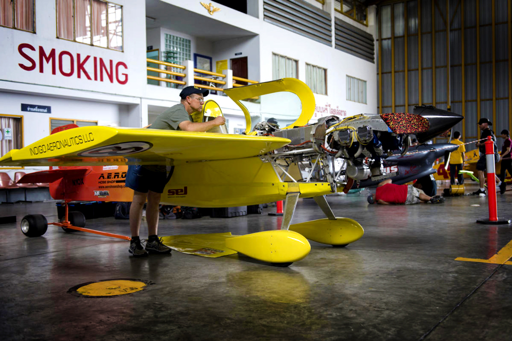 Existing plane technology already provides much of the building blocks which the racers can use, than starting from scratch. Photo credit: Lloyd Horgan