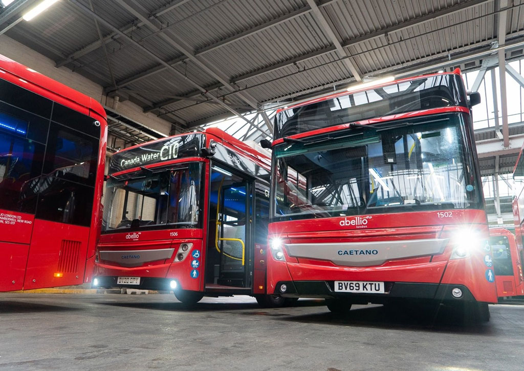A collaboration with Zenobe help Abellio launch its first electric buses in London